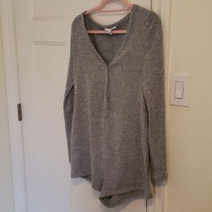 Cozy long sleeve onesie